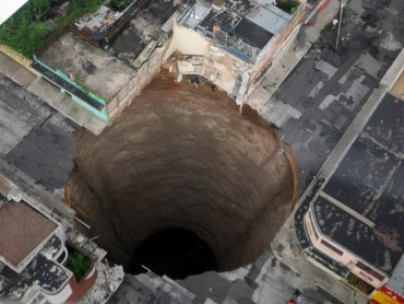 Sinkholes: Buried Alive