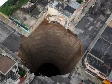Sinkholes: Buried Alive