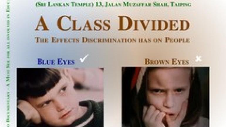 A Class Divided