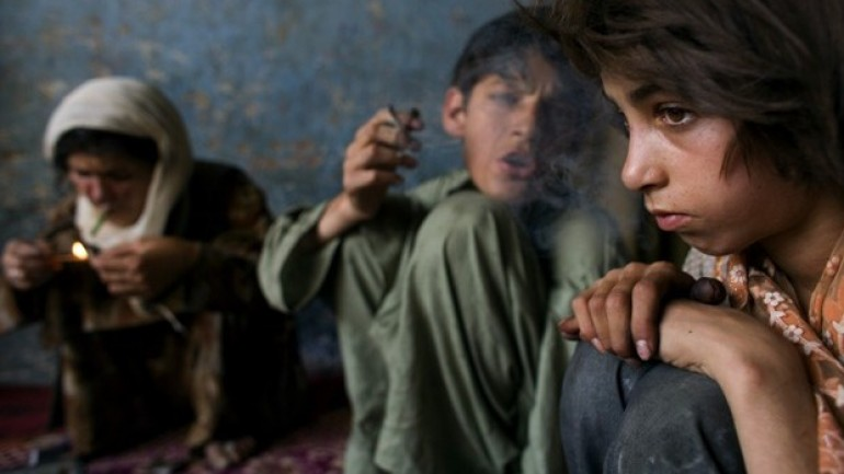 Afghanistan's Child Drug Addicts