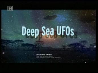 Deep Sea UFOs