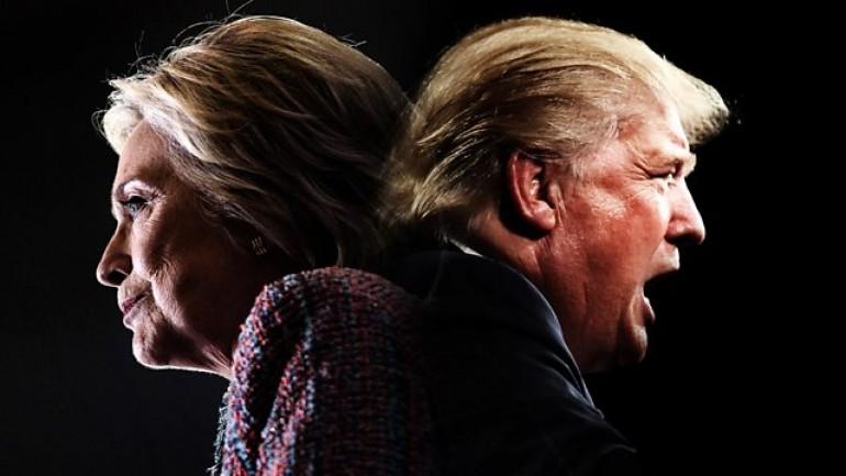 Paxman on Trump v Clinton: Divided America