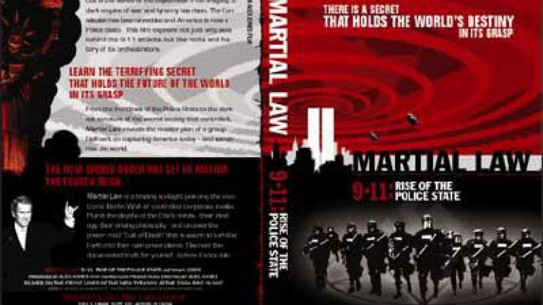 Martial Law 9/11: The Rise of the Police State