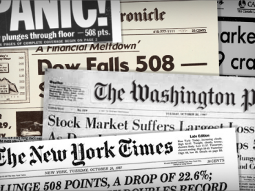 Cancel Crash: The Stock Market Crash of 1987