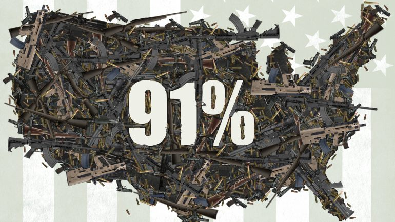 91%: A Film About Guns in America