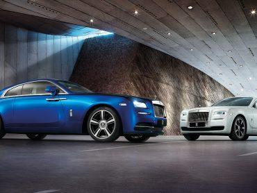 Inside Rolls Royce