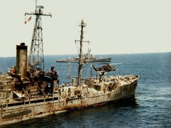 USS Liberty Dead in the Water