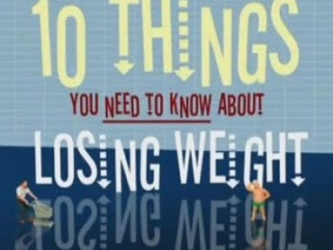 10 Things You Need to Know About Losing Weight