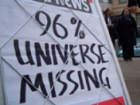Most of the Universe is Missing