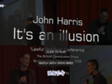 John Harris – It's an Illusion