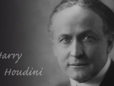 Dead Men's Tales: Harry Houdini