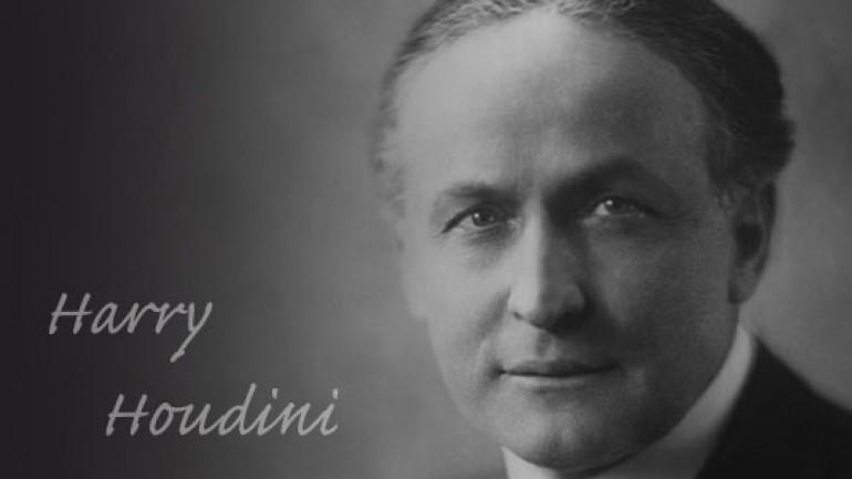 Dead Men's Tales: Harry Houdini