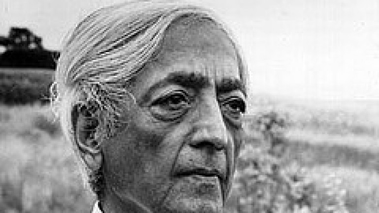 The Teachings of Jiddu Krishnamurti