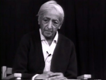 Jiddu Krishnamurti On What Can We Do In This World