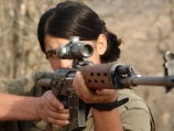Female Fighters of Kurdistan