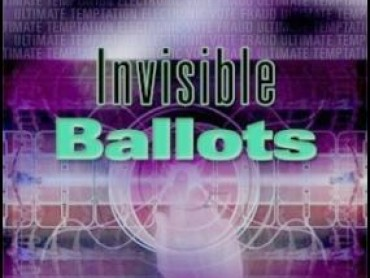 Invisible Ballots: A Temptation for Electronic Vote Fraud