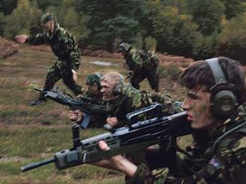 Kids with Guns: UK's Army Cadet Force