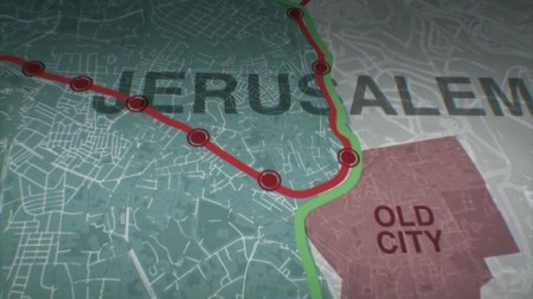 The Train That Divides Jerusalem
